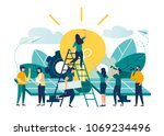 vector illustration.... | Shutterstock .eps vector #1069234496