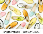 stylish female spring or autumn ... | Shutterstock . vector #1069240823