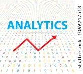 analytics in digital cybernetic ...   Shutterstock .eps vector #1069247513