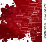 abstract red background   Shutterstock . vector #1069256999