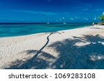 panorama of the tropical... | Shutterstock . vector #1069283108