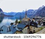 a good view of hallstadt austria   Shutterstock . vector #1069296776