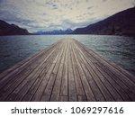 a wonderful seaport from austria   Shutterstock . vector #1069297616