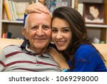 elderly eighty plus year old...   Shutterstock . vector #1069298000