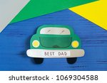 making greeting card for father'... | Shutterstock . vector #1069304588