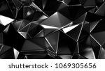 stylish black crystal...   Shutterstock . vector #1069305656