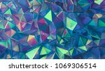 stylish multi color crystal... | Shutterstock . vector #1069306514