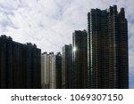 modern architecture.... | Shutterstock . vector #1069307150
