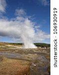 haukadalur  iceland   august 11 ... | Shutterstock . vector #106930919
