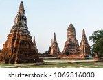 Small photo of Scenic sight at Wat Chai Watthanaram in Ayutthaya, Thailand