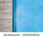 aerial view of swimming pool... | Shutterstock . vector #1069324016