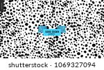 hand drawn black and white...   Shutterstock .eps vector #1069327094