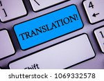 writing note showing ... | Shutterstock . vector #1069332578