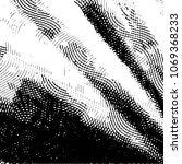 black and white grunge stripe... | Shutterstock .eps vector #1069368233