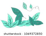 an illustration of drawing... | Shutterstock . vector #1069372850