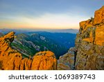 yushan mountains or jade... | Shutterstock . vector #1069389743