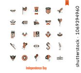4th of july  independence day... | Shutterstock .eps vector #1069394960