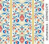 ornate floral ornament. vector...   Shutterstock .eps vector #1069401479