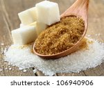 different types of sugar  ... | Shutterstock . vector #106940906