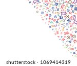 abstract background for... | Shutterstock .eps vector #1069414319