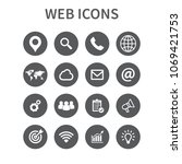 web icons set. universal web...