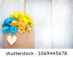 love shopping abstract... | Shutterstock . vector #1069445678