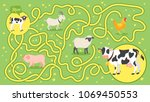vector cartoon style... | Shutterstock .eps vector #1069450553