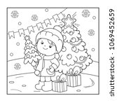 Coloring Page Outline Of Girl...
