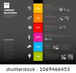 vector colorful infographic... | Shutterstock .eps vector #1069466453