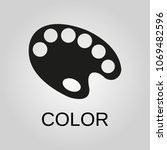 color icon. color symbol. flat...