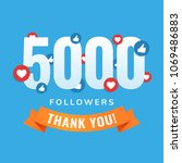5000 Followers  Social Sites...