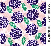 fashionable seamless pattern...   Shutterstock . vector #1069489610
