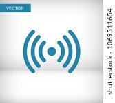 wi fi icon vector illustration. ...