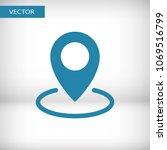 map pin icon vector...