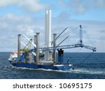 Ship For Offshore Wind Turbine...
