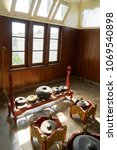 Small photo of Picture of Gamelan traditional musical instrument from Java in Yogyakarta, Indonesia