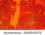 metal rust background metal... | Shutterstock . vector #1069543370