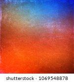 colorful vintage background | Shutterstock . vector #1069548878