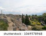 pompeii  italy   september 5 ... | Shutterstock . vector #1069578968