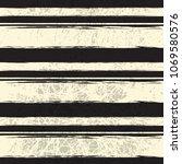 geometric abstract retro... | Shutterstock .eps vector #1069580576