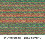 modern static glitch background.... | Shutterstock .eps vector #1069589840