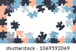 vector abstract background made ... | Shutterstock .eps vector #1069592069