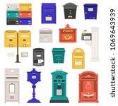 Retro Street Postbox Collection ...
