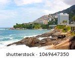 rio de janeiro  brazil   march...   Shutterstock . vector #1069647350