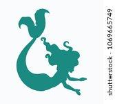 cartoon beautiful little... | Shutterstock .eps vector #1069665749
