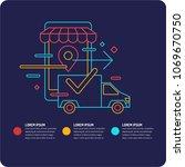 vector illustration of the best ... | Shutterstock .eps vector #1069670750