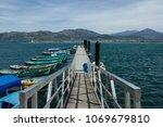 city of isparta egirdir lake...   Shutterstock . vector #1069679810