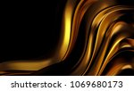 luxury background with gold... | Shutterstock . vector #1069680173