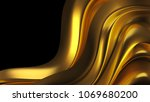 luxury background with gold... | Shutterstock . vector #1069680200