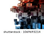 abstact modern background with... | Shutterstock . vector #1069693214